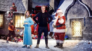 Doctor Who Christmas Special - a bit of an scary one with alien style face crabs - why not steal from the best