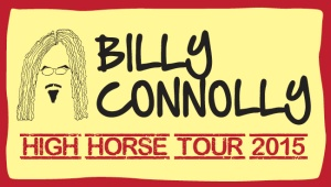 Billy Connolly is touring Australia at the moment. Great show.